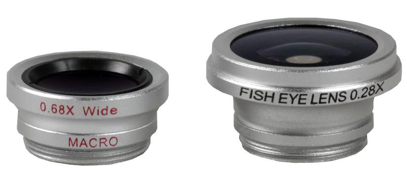 Fisheye og vidvinkel objektiver til iPhone